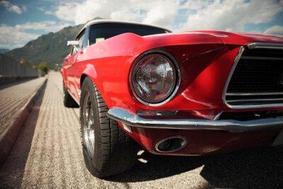 Plakat Classic Car Muscle