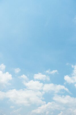 Plakat clear blue sky background,clouds with background.