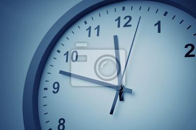 Plakat Clock face close-up