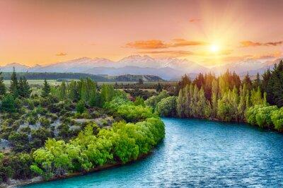 Plakat Clutha rzeka