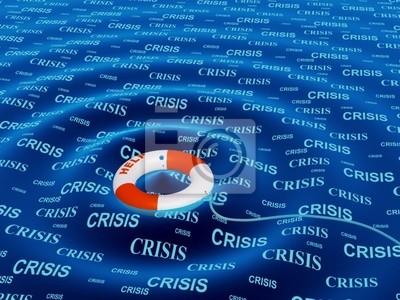 Conceptual obrazu - pomoc w sytuacji kryzysowej