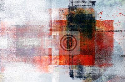 Plakat Contemporary Multimedia Abstract Background