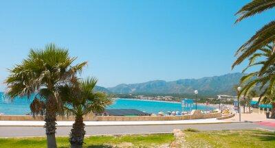 Plakat Costa Dorada, Summer in Spain, Europe