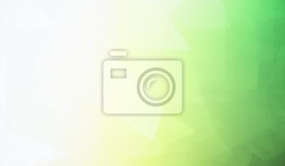 Plakat Creative zielone tapety