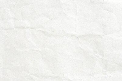 Plakat Crumpled białego papieru