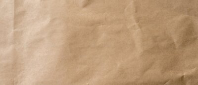 Plakat crumpled brown paper background and texture with copy  space.