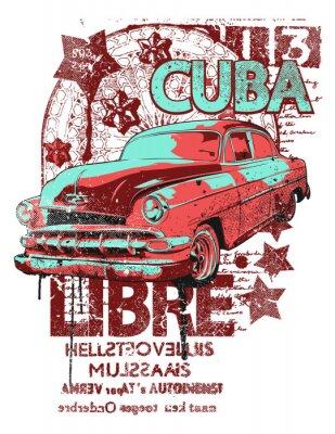 Plakat Cuba Libre