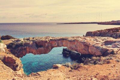 Plakat Cypr wybrzeża