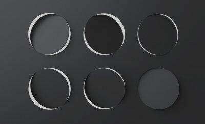 Czarna powierzchnia z otworami z otworami perforacyjnymi