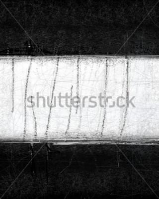 Plakat Czarno-białe abstrakcyjne malarstwo artystyczne