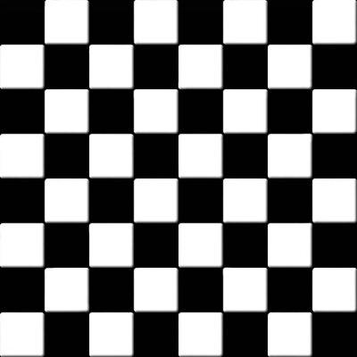 Plakat Czarno-białe płytki tekstury w kratkę