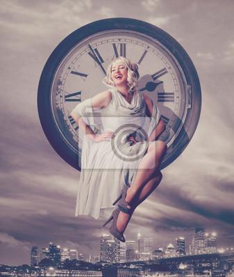 Plakat Czas dla życia nocnego / Marilyn Monroe 06