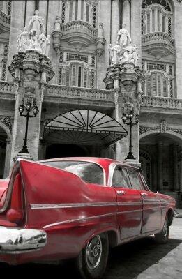 Plakat Czerwony klasyk, Kuba
