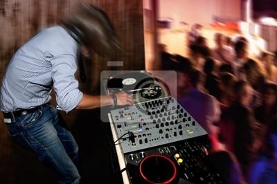 Plakat Dancing DJ