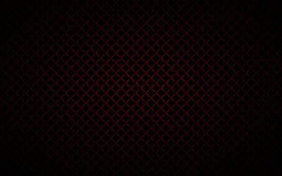 Plakat Dark abstract background with red corners. Simple vector illustration