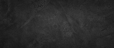 Plakat dark concrete wall texture background, natural pattern