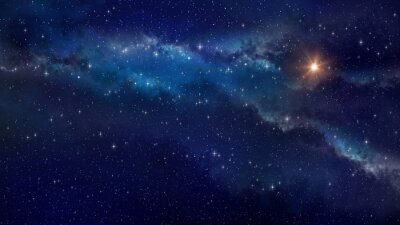 Plakat Deep space