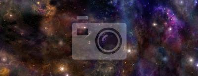 Plakat Deep Space Baner