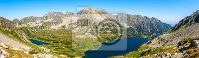 Plakat Dolina Pięciu Stawów Polskich - panorama