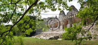 Dom z gołębi w mieście Majów Uxmal na Jukatanie