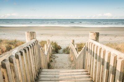 Plakat dostęp do plaży