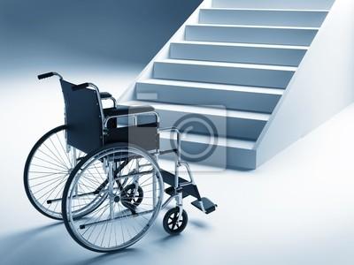 Plakat Dozwolone i schody