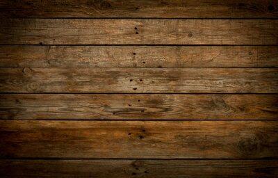 Plakat Drewnianych tła. Stare naturalnego drewna zabite deskami.