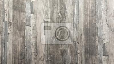 Plakat Drewno tekstury tła stary mur podłogi drewniane rocznika brązowy tapety