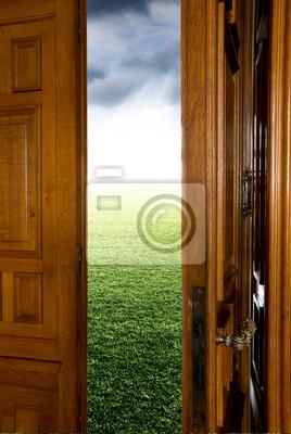 Plakat Drzwi na otwartą