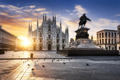 Plakat duch Milano