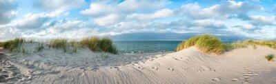 Plakat Dune beach at the North Sea coast, Sylt, Schleswig-Holstein, Germany