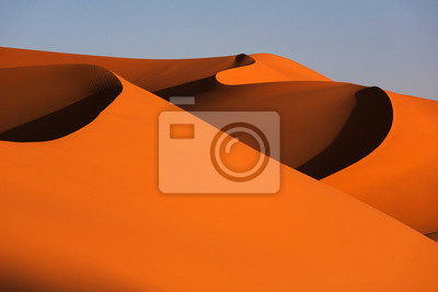 Plakat Dunes pl pustyni