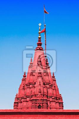 Plakat Durga świątyni