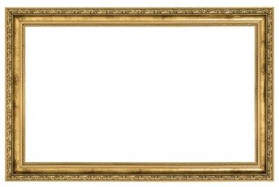 Duże Złote Ramki Plakaty Redro
