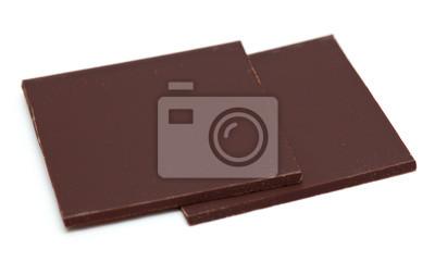 Plakat Dwa kawałki czekolady
