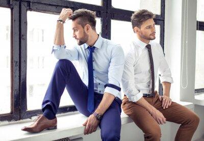 Plakat Dwie sexy przystojni mężczyźni