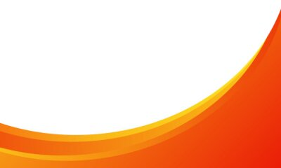 Plakat dynamic orange background gradient, abstract creative scratch digital background, modern landing page concept vector, with line and circle shape.