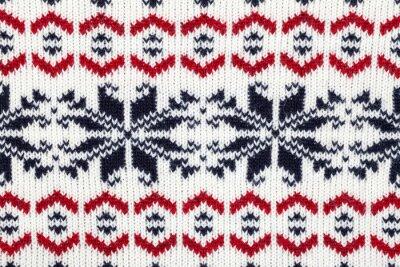 Plakat Dzianiny tkaniny ornament