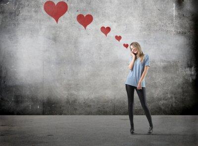 Plakat Dziewczyna w miłości