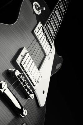 Plakat E Gitarre