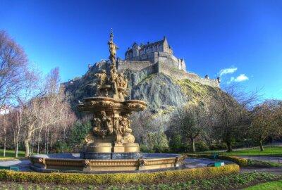 Plakat Edinburgh Castle in Scotland