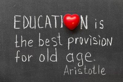 Plakat edukacja jest