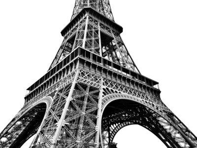 Plakat Eiffel Tower Against Clear Sky
