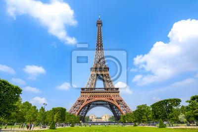 Plakat Eiffel Tower and Field of Mars, Paris, France