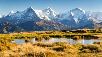 Plakat Eiger, Mönch i Jungfrau