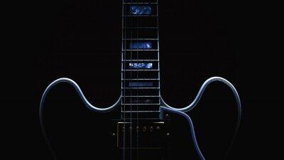 Plakat Electric Guitar Streszczenie