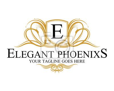 Plakat elegancki Phoenix