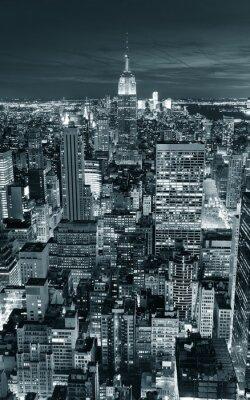 Plakat Empire State Building zbliżenie