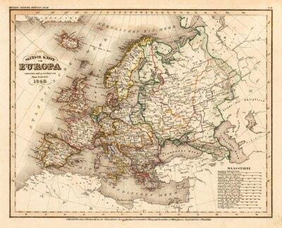 Plakat Europa rocznika
