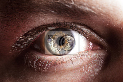 Plakat Eye close up